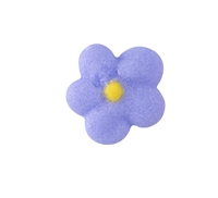 Mini Royal Icing Drop Flower - Lavender