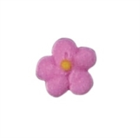 Mini Royal Icing Drop Flower - Pink