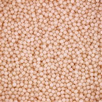 2mm Edible Pearlized Dragees - Ivory Gloss
