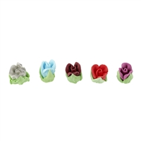 Royal Icing Rosebud - Assorted Colors (2 Colors Of Your Choice)