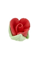 Royal Icing Rosebud - Red