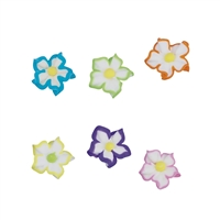Medium Royal Icing Star Flower Assortment