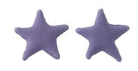 Small Royal Icing Star - Purple