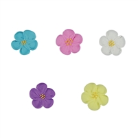 Med-Lg Royal Icing Wild Rose - Assorted Colors