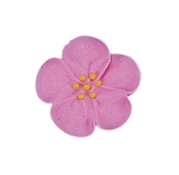 Med-Lg Royal Icing Wild Rose - Pink