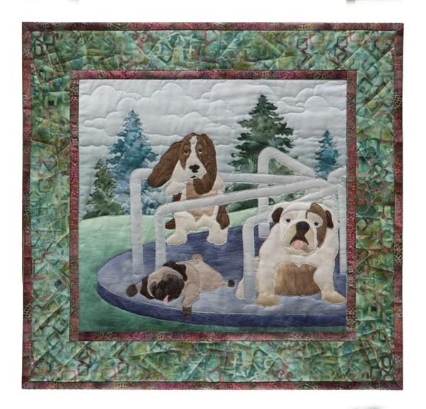 Dog Park Fabric Kit