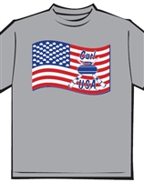 Flag Curling T-shirt