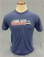 Wave Curl USA T-shirt