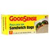 Goodsense 80-ct Sandwich Bags Fold Lock
