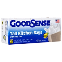 Goodsense 13 Gal Trash Bags 12-ct