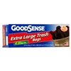 Goodsense 33 Gal trash bag 6-ct With Flap