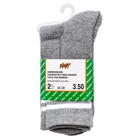 2-pk Kids Socks Size 6-8