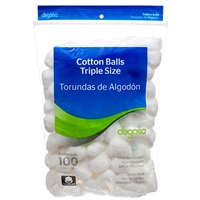 24 bags of 100 CT Jumbo Cotton Ball