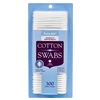 Cotton Swabs 300 Ct Pure-Aid