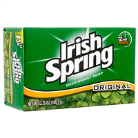 3.75 OZ Irish Spring Bar Soaps pack of 20 bar soaps, Original Scent