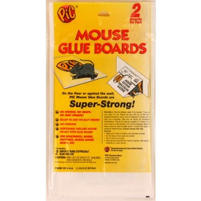 2-pc Flat Mouse Glue Trap