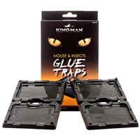 4-pk Small  Mouse Glue Trap