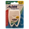 Aim Dental Floss, Waxed , Mint, 120 Yards