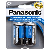 2-pk C Panasonic Batteries