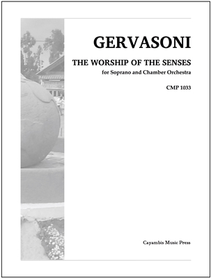 Gervasoni, Worship of the Senses