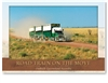 Roadtrain on the Move - Large Postcard  AOBL-026