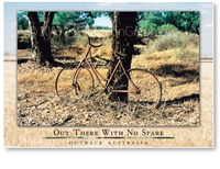 Out There With No Spare - Large Postcard  AOBL-035