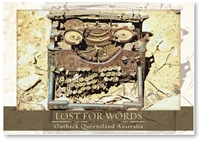 Lost for Words - Large Postcard  AOBL-036