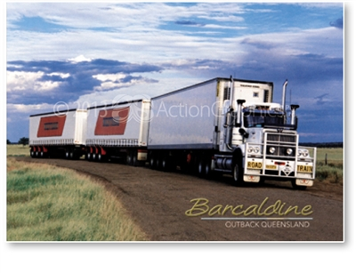 Barcaldine Outback Queensland - DISCOUNTED Standard Postcard  BAR-352