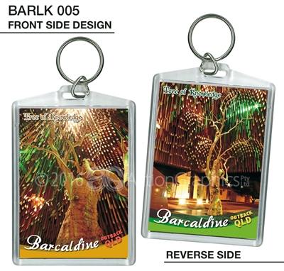 Tree of Knowledge - 65mm x 90mm Large Keyring  BARLK-005