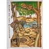 BILLABONG Cotton/Linen Tea Towel - C736
