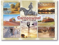 Camooweal Home of the Drover - Standard Postcard  CAM-006