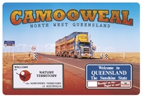 Camooweal North West Queensland - Rectangular Sticker CAMS-070