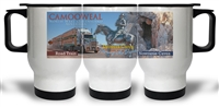 Road Train, Drovers Camp and Nowranie Caves - Travel Mugs CAMTM-001