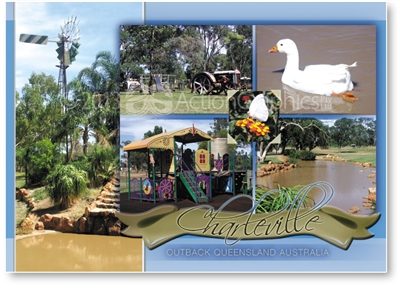 Charleville Outback Queensland Australia - DISCOUNTED Standard Postcard  CHA-258