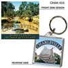 Warrego River - 40mm x 40mm Keyring  CHAK-003
