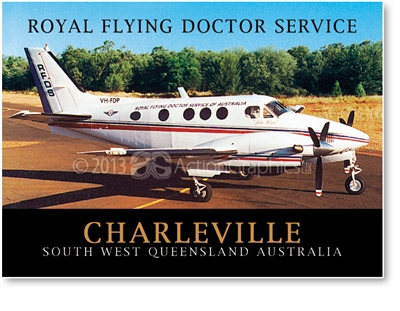 Royal Flying Doctor Service - Small Magnets  CHAM-052