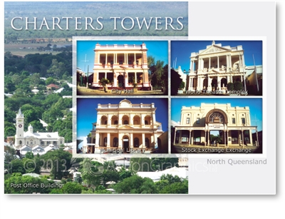 Historic Charters Towers - Standard Postcard  CHT-309
