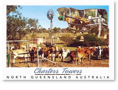 Charters Towers North Queensland Australia - DISCOUNTED Standard Postcard  CHT-314