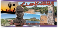 Cloncurry, Heart of the Great North West - Panoramic Postcard  CLO-006PP