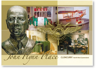 Cloncurry John Flynn Place - DISCOUNTED Standard Postcard  CLO-088