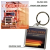 Cloncurry North West Qld - 40mm x 40mm Keyring  CLOK-003