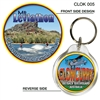 Chinaman Creek Dam - 40mm Round Keyring  CLOK-005