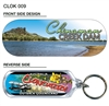 Chinaman Creek - 66mm x 23mm Oblong Keyring  CLOK-009