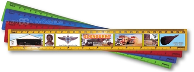 Cloncurry - DISCOUNTED Scenic Ruler  CLOR-006