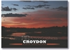 Sunset at Croydon - Standard Postcard CROY-001