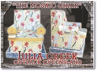 The Mosaic Chair - Small Magnets JULM-001