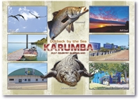 Outback by the Sea Karumba - Standard Postcard KAR-009