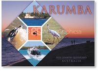 Karumba Sights and Activities - Standard Postcard  KAR-046