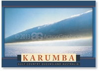 Karumba, Morning Glory Cloud - DISCOUNTED Standard Postcard  KAR-270