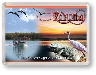 Karumba Collage - Framed Magnet  KARFM-007